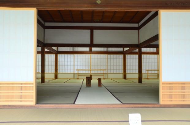 Japonia, Kyoto, Arashiyama, kompleks Tenryu-ji, jedno z pomieszczeń