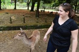 Japonia, Nara, Nara Park - kumple!