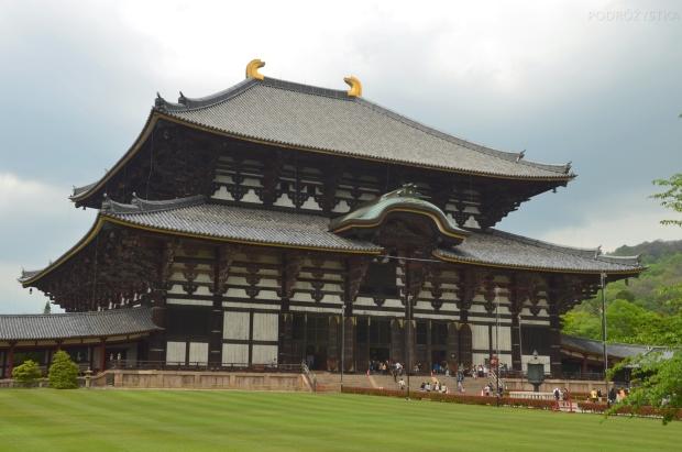 Japonia, Nara, kompleks Todai-ji, Daibutsu-den Hall