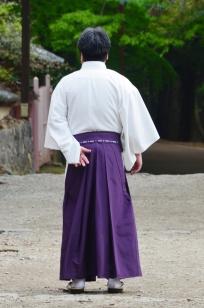 Japonia, Kyoto, mężczyzna w tradycyjnym stroju