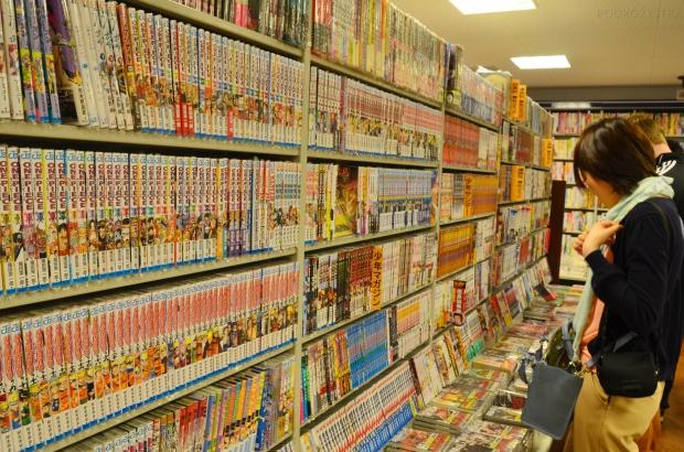 Japonia, więcej komiksów