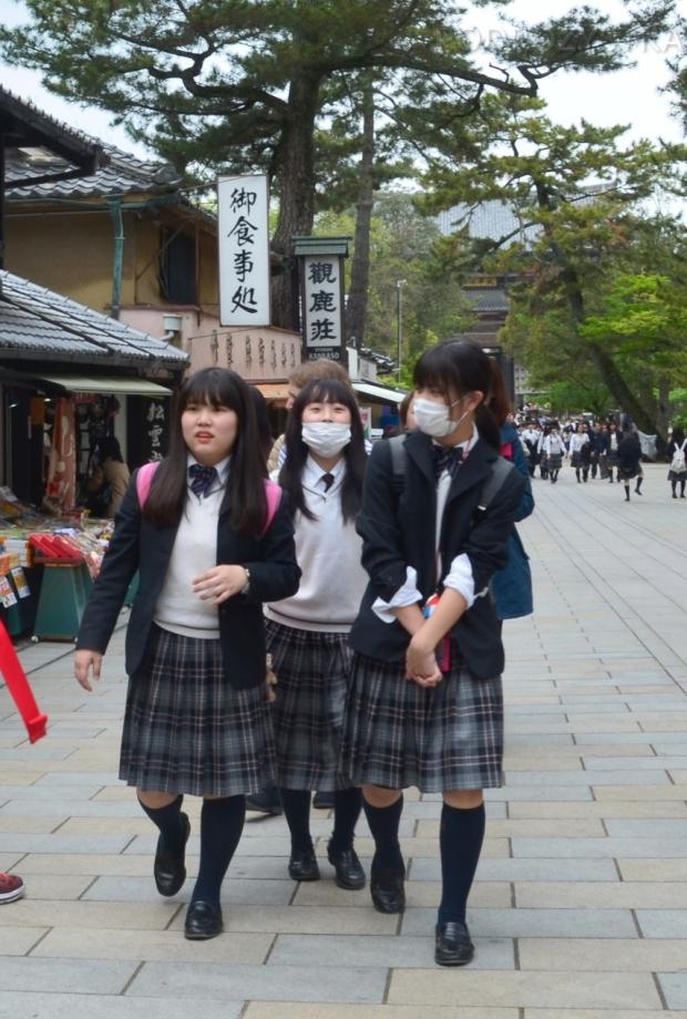 Japonia, japońskie uczennice