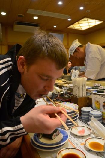 Japonia, sushi - omnom mnom!