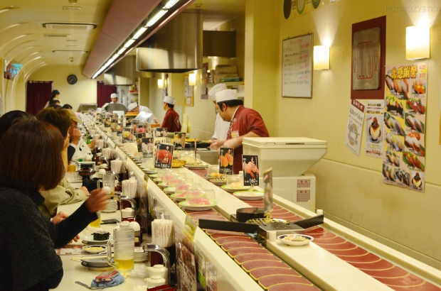 Japonia, podobno najdłuższa taśma sushi na świecie