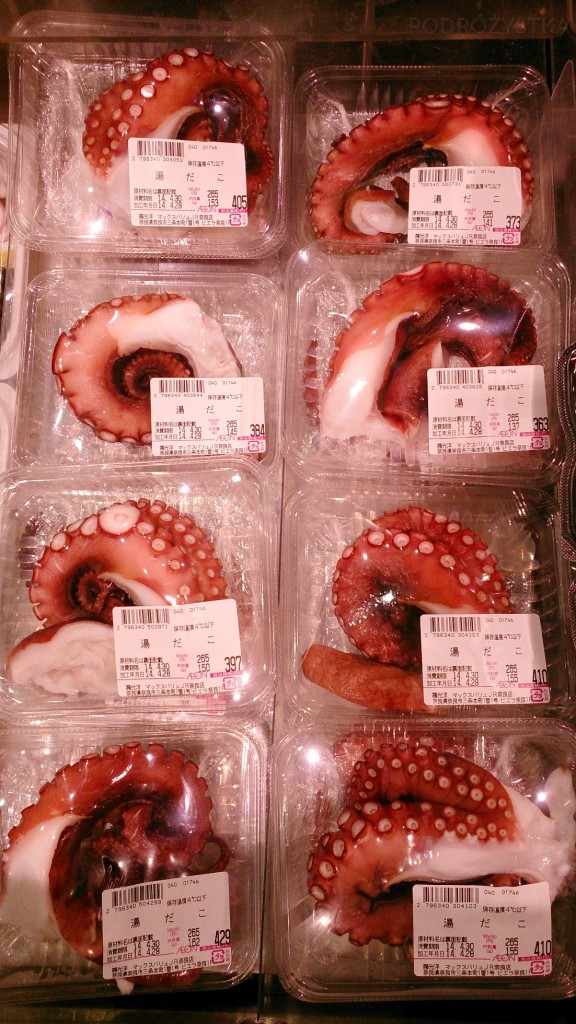 Japonia, macki ośmiornicy