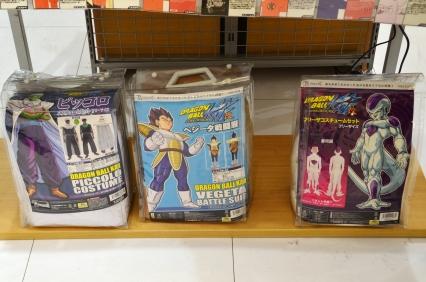 Japonia, kostiumy bohaterów!