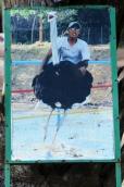 Malezja, Port Dickson, PD Ostrich Show Farm, szarża na strusiu