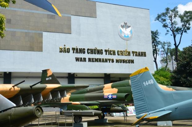 Wietnam, Ho Chi Minh City (Sajgon), War Remnants Museum - Muzeum Pozostałości Wojennych