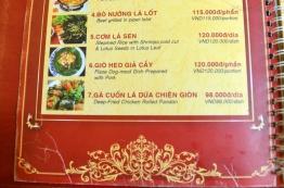 Wietnam, Ho Chi Minh City (Sajgon), pozycja szósta - mięso z psa?!
