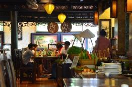 Wietnam, Ho Chi Minh City (Sajgon), przyjemna restauracja niedaleko muzeum