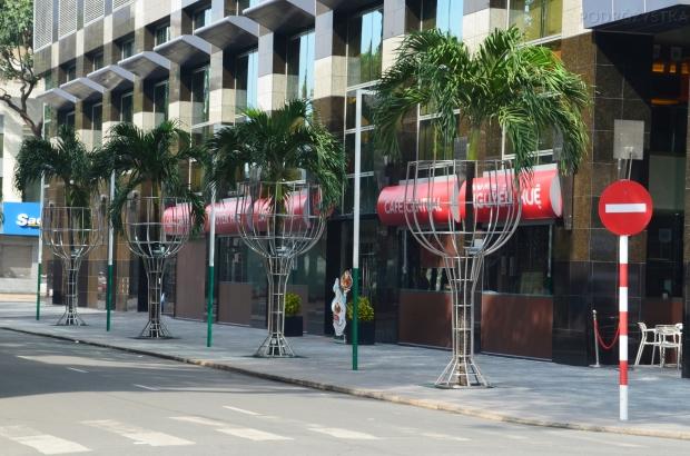 Wietnam, Ho Chi Minh City (Sajgon), drink z palemką, wersja wietnamska