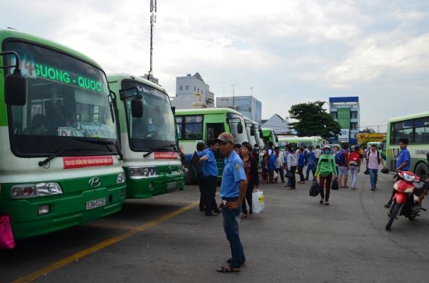 Wietnam, Cu Chi, dworzec autobusowy