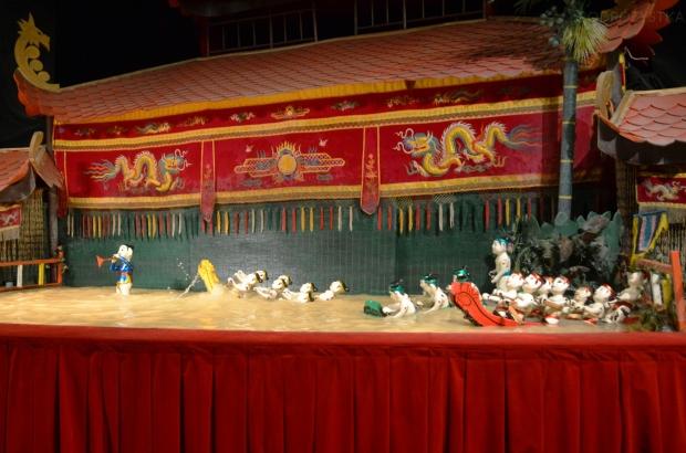 Wietnam, Ho Chi Minh City (Sajgon), scena Water Puppet Show