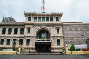 Wietnam, Ho Chi Minh City (Sajgon), Poczta Główna