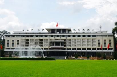 Wietnam, Ho Chi Minh City (Sajgon), Reunification Palace - Pałac Niepodległości/Zjednoczenia