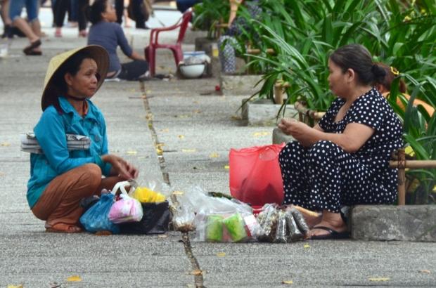 Wietnam, Ho Chi Minh City (Sajgon), sprzedaż uliczna