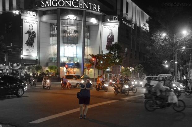Wietnam, Ho Chi Minh City (Sajgon), jest i kapelusz!