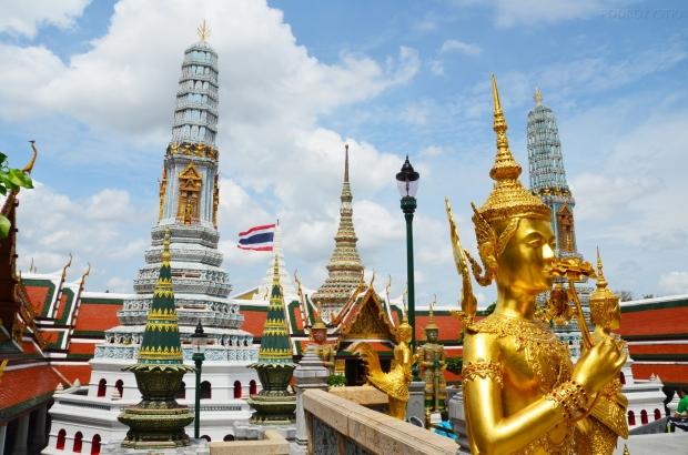 Tajlandia, Bangkok, Grand Palace - Pałac królewski, teren świątyni Wat Phra Kaew