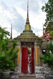 Tajlandia, Bangkok, świątynia Wat Pho, akuku!