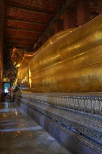 Tajlandia, Bangkok, świątynia Wat Pho, światynia leżącego Buddy