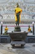 Tajlandia, Bangkok, świątynia Wat Arun, posąg Buddy