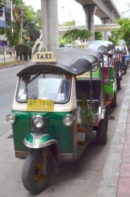 Tajlandia, Bangkok, tuk-tuki!