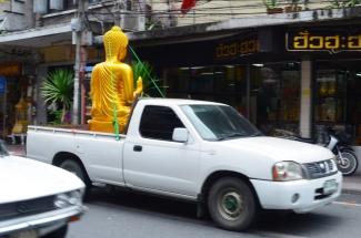 Tajlandia, Bangkok, czy jedzie z nami Budda?