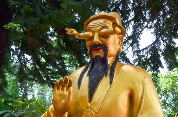 Chiny, Hong Kong, Ten Thousand Buddhas Monastery, Klasztor 10 Tysięcy Buddów, mam na Ciebie ok.. oko?!