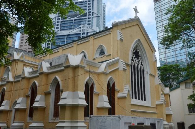 Chiny, Hongkong, St John's Cathedral - Katedra św. Jana
