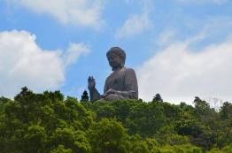 Chiny, Hongkong, wyspa Lantau, Po Lin Monastery (klasztor Po Lin), statua Tian Tan Buddy (Big Buddha - Duży Budda)