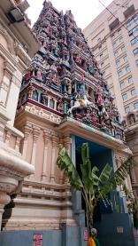 Malezja, Kuala Lumpur, hinduistyczna świątyni Sri Mahamariamman Temple