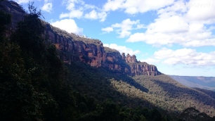 Australia, Blue Mountains, Three Sisters (Trzy Siostry)