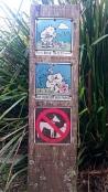 Australia, Blue Mountains, przydrożne znaki