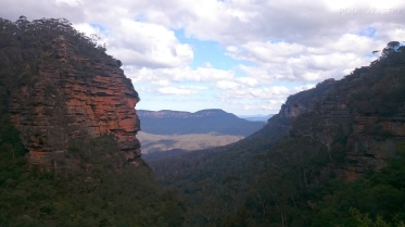 Australia, Blue Mountains, Bridal Veil Lookout
