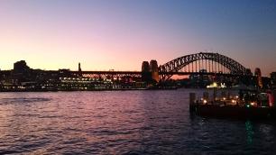 Australia, Sydney, Sydney Harbour Bridge (most na zatoce Sydney)
