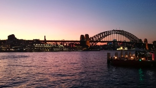 Australia, Sydney, Sydney Harbour Bridge (most na zatoce Sydney)