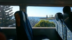 Australia, Sydney - Bomaderry, widok z pociągu