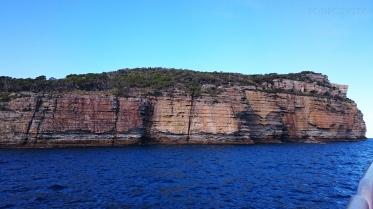Australia, Jervis Bay (zatoka Jervis), Dart Point - skały w zatoce