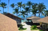 Filipiny, wyspa Boracay, domki przy Bulabog Beach (Plaża Bulabog)