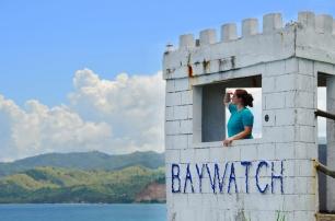 Filipiny, wyspa Magic (Magic Island) nieopodal wyspy Boracay, Słoneczny Patrol :)