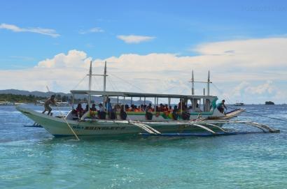 Filipiny, wyspa Boracay, okolice Puka Beach