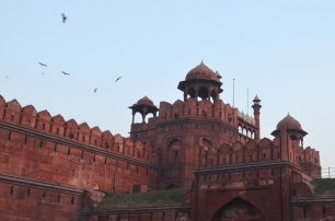 Indie, Delhi, Red Fort, Lahori Gate