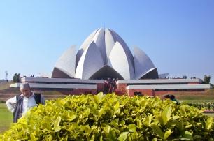 Indie, Delhi, Lotus Temple - Świątynia Lotosu