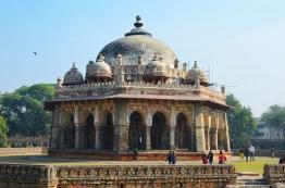 Indie, Delhi, Isa Khan's Tomb (Grobowiec Isa Khana)