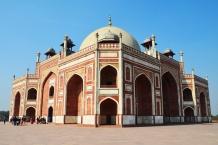 Indie, Delhi, Humayun's Tomb (Grobowiec Humajuna)