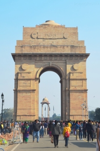 Indie, Delhi, India Gate (Brama Indii)