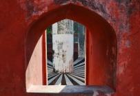 Indie, Delhi, Jantar Mantar - wnętrze Rama Yantra