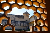 Indie, Jaipur, Amber Fort, część pałacowa