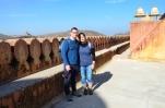 Indie, Jaipur, Amber Fort, na górze części Zenana - przeznaczonej dla kobiet