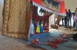 Indie, Jaipur, Amber Fort, teatrzyk kukiełkowy